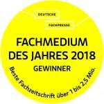 Deutsche-Fachpresse_Fachmedium des Jahres 2018