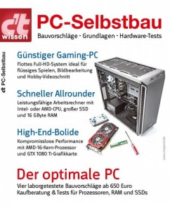 c't special PC-Selbstbau