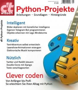 c't wissen Python-Projekte 2018